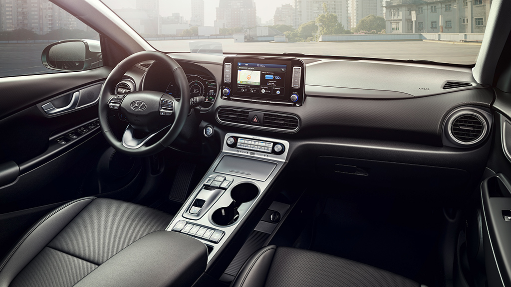 pr img Hyundai Kona Electric Interieur